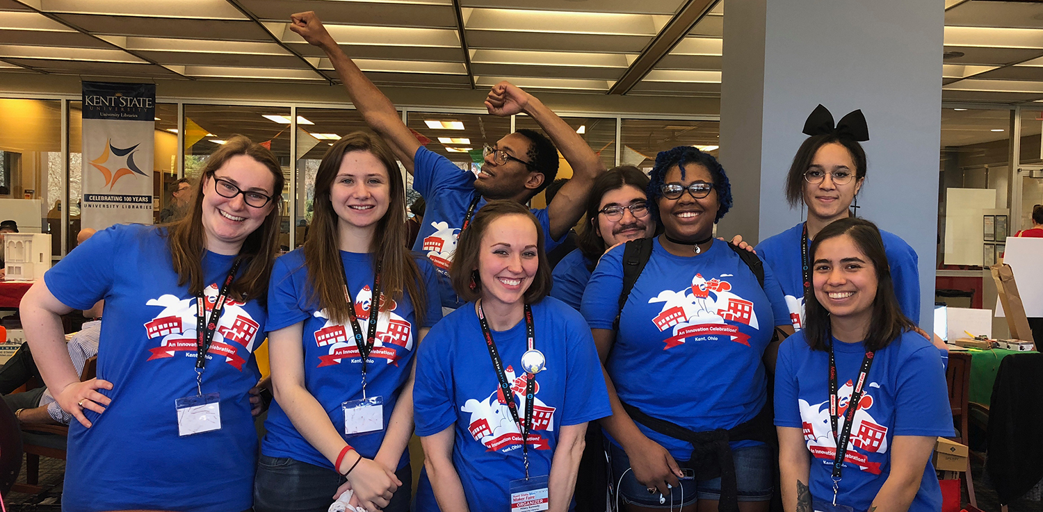 volunteers from the 2019 Mini Maker Faire