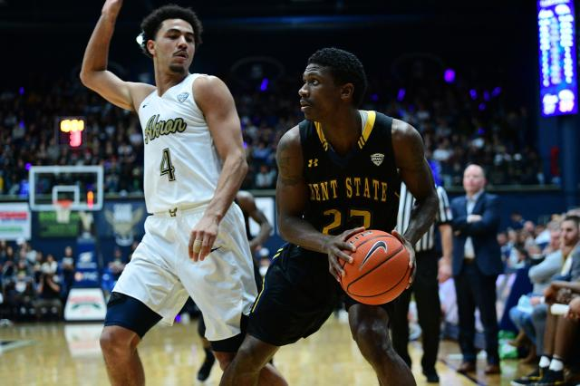 Image result for Akron Zips vs. Kent State Golden Flashes College Basketball 2019