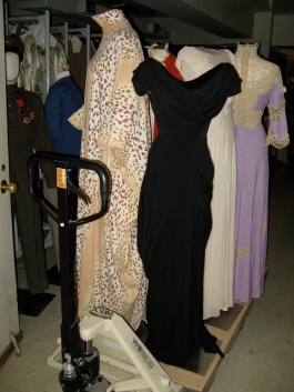 The mannequins awaiting photography