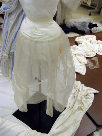 The first layer of the underskirts