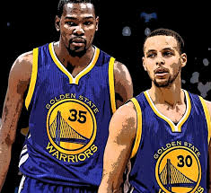 81276081386e Kevin Durant and Steph Curry as teammates raises expectations to a  championship and 75 regular season