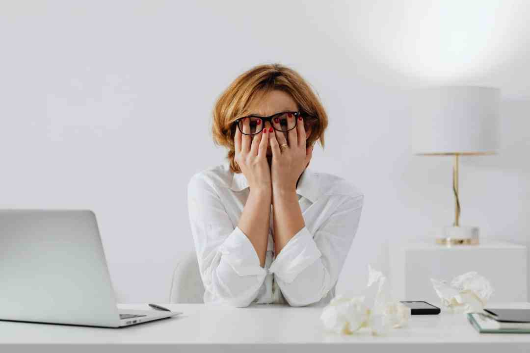 stressed woman needing stress management