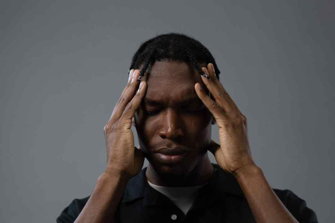 man handling emotional triggers