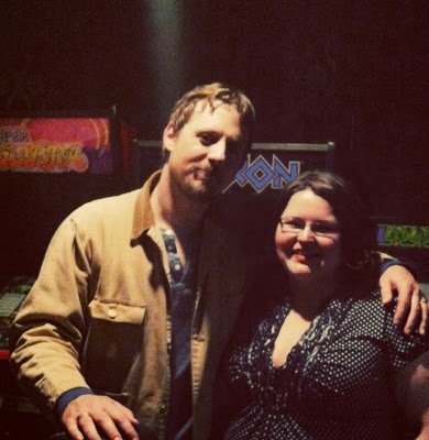 Sturgill Simpson and Jessica Blankenship of Kentucky Country Music at Zanzabar in Louisville, KY.