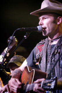 Hank 3 performing in Lexington, Kentucky. Photo by Jessica Blankenship.