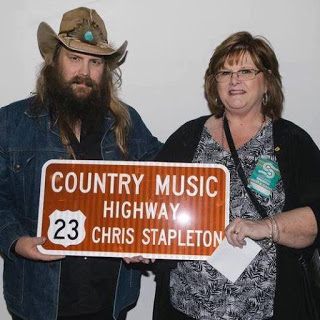 Chris Stapleton honored with road sign