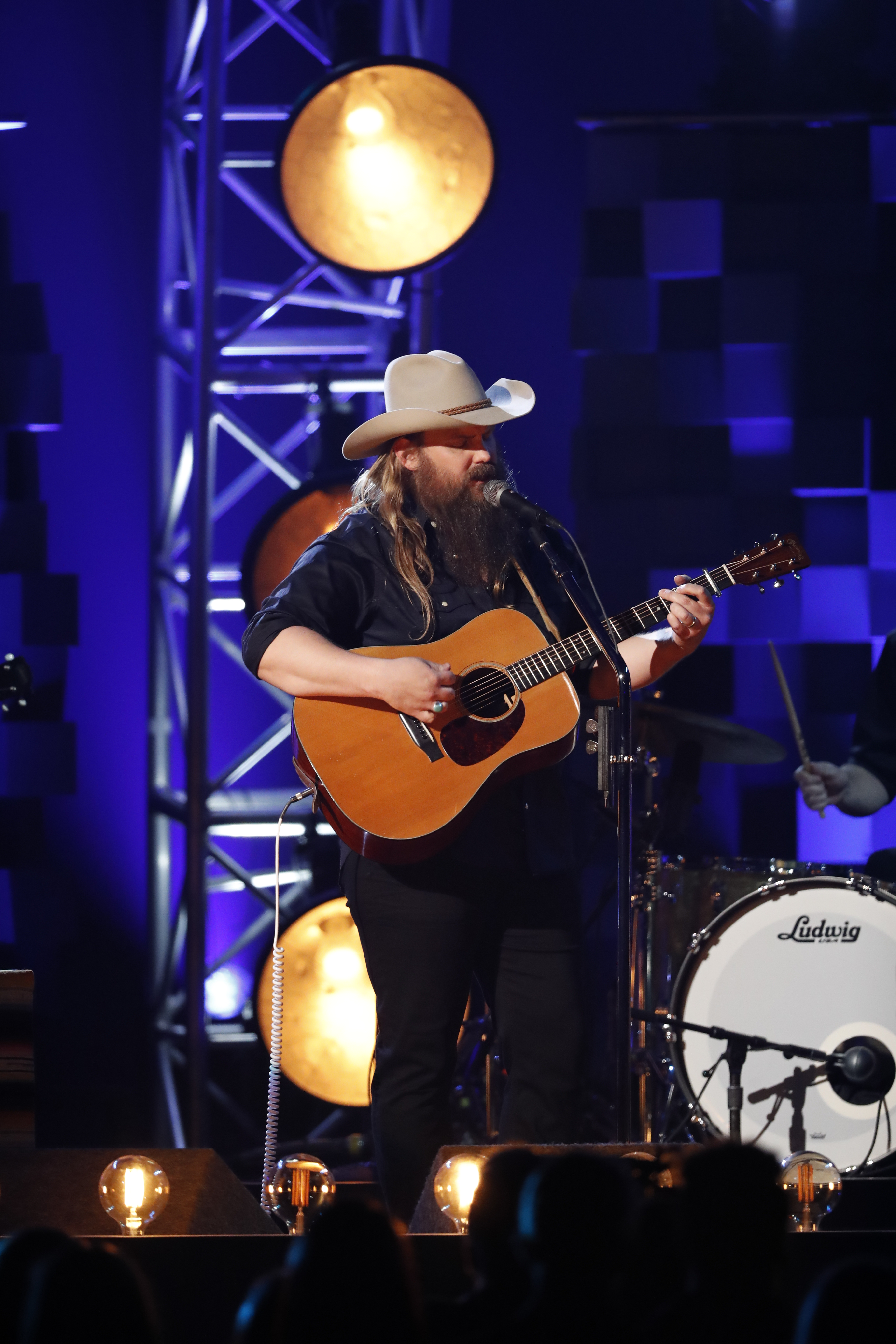 Chris Stapleton leads the pack with 8 ACM nominations
