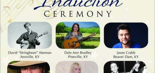 "Kentucky Music Hall of Fame 2018 Inductees include David ""Stringbean"" Akeman, Dale Ann Bradley, Jason Crabb, Billy Ray Cyrus, Jackie DeShannon, and Bobby Lewis."