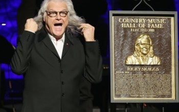 Ricky Skaggs inducted into the Country Music Hall of Fame