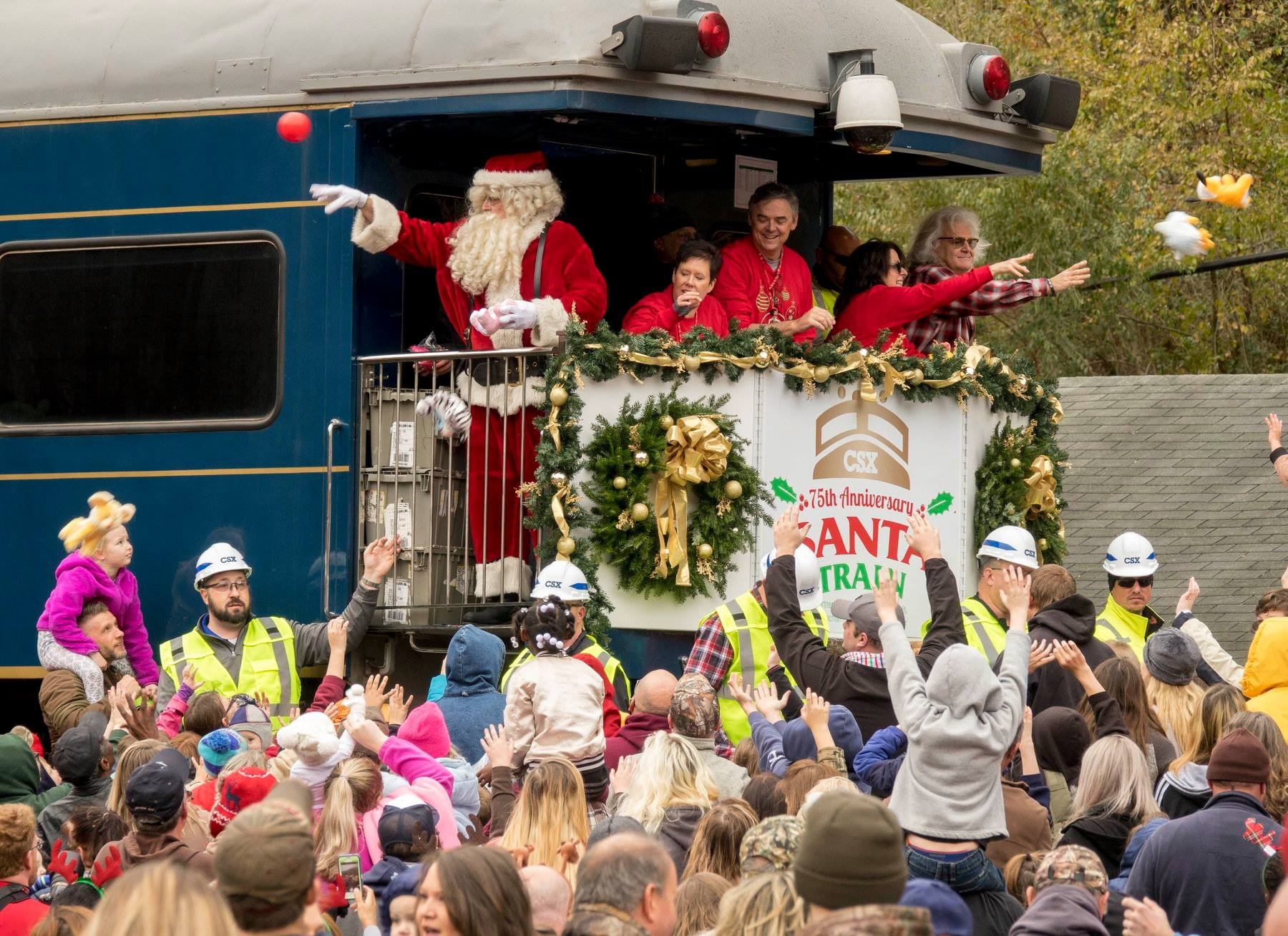CSX Santa Train to feature country duo as special guests