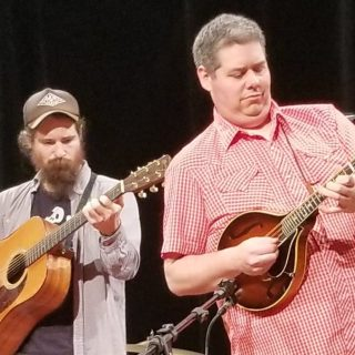 John R Miller performing during Red Barn Radio Show in Lexington, KY. Photo by Jon Grace.