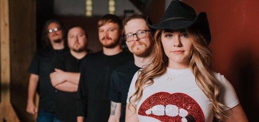 Sydney Adams with Band