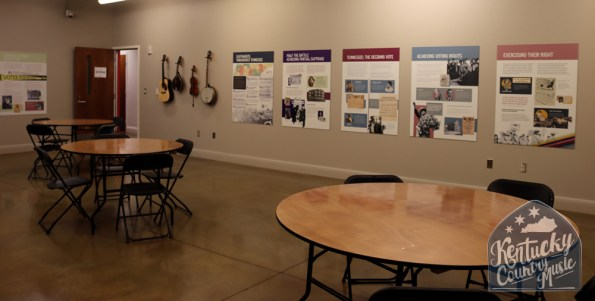 Classroom inside the Birthplace of Country Music Museum in Bristol, VA. Photo by Jessica Blankenship.