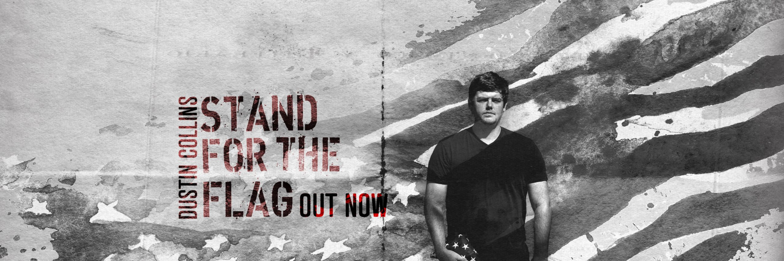 Dustin Collins is proud to stand for the American flag with new single