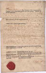 Three-thousand acre land grant to the heirs of Hugh Mercer, Kentucky County, Virginia