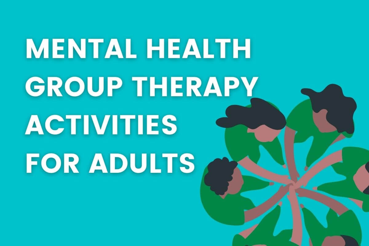 mental health group therapy activities for adults