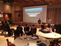 Devin, Sydney, and Spencer presenting on
