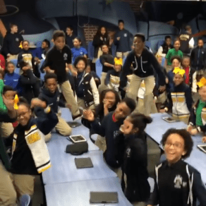RCA Kids Dance When They Learn They're Seeing Black Panther