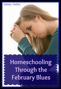 Homeschooling Through the February Blues