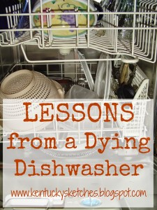 Lessons from a Dying Dishwasher (The Appliance Kind)