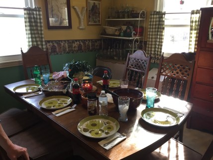 The lovely table