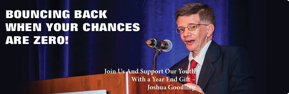 I'd like to invite you to join us and support this great ministry. Joshua Goodling