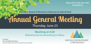KDCL ~ Annual General Meeting ~ June 23rd