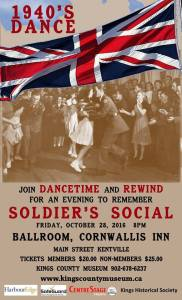 1940's Dance ~ Soldier's Social ~ October 28th