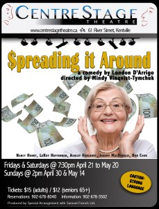 """Spreading It Around"" ~ Opening At CentreStage"