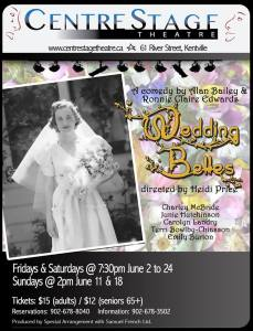 """Wedding Belles"" ~ opening at CentreStage Theatre"