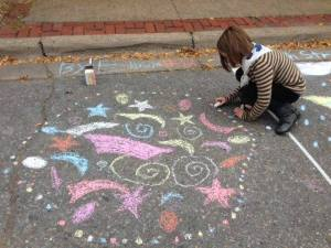 Chalk Art Festival ~ October 14th