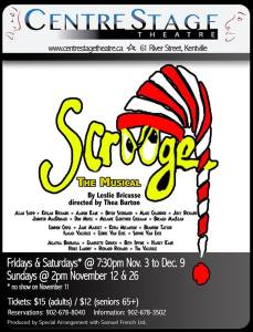 """Scrooge"" ~ Opening At CentreStage Theatre"