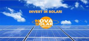 Outstanding New Business Of The Year ~ Nova Solar Capital