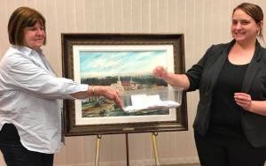 KBC's Donation To The Kentville Historical Society