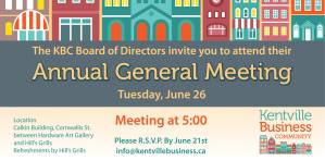 KBC Annual General Meeting  Coming Up