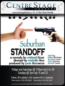 """Suburban Standoff"" Opening At CentreStage Theatre"