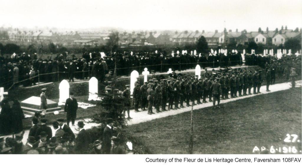 108FAV - Cemetery Mass Burial - Marching