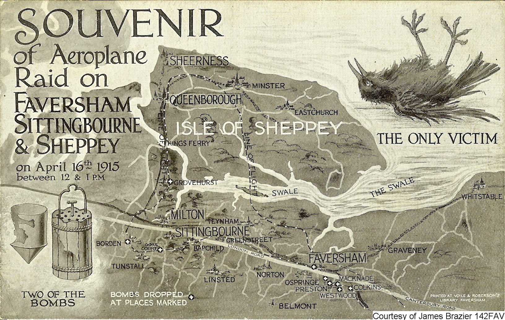 The Faversham And Sheppey Air Raid On The 16th April 1915