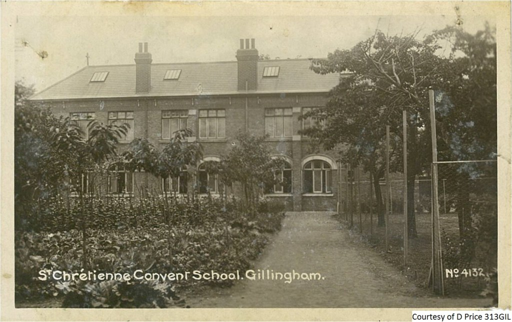 313GIL - St Chretienne Convent School. Gillingham