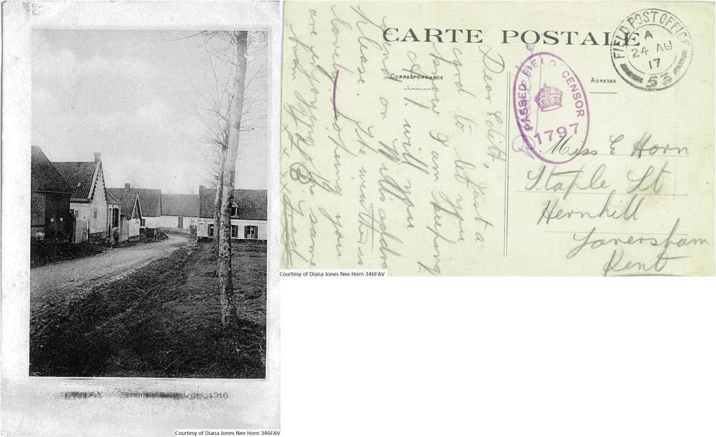346FAV – Carte Postale (Front & Back)