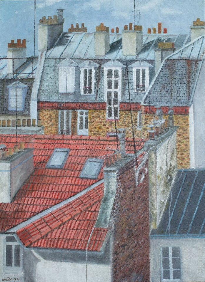 Les Toits de Paris, Ken Wada, 2007