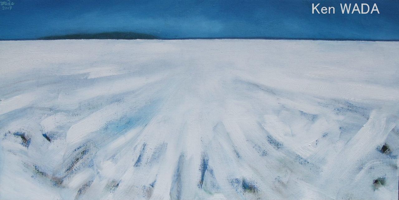 Les champs de Maintenon sous la neige 3