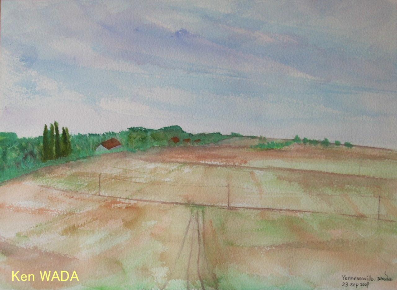 Les champs d'automne