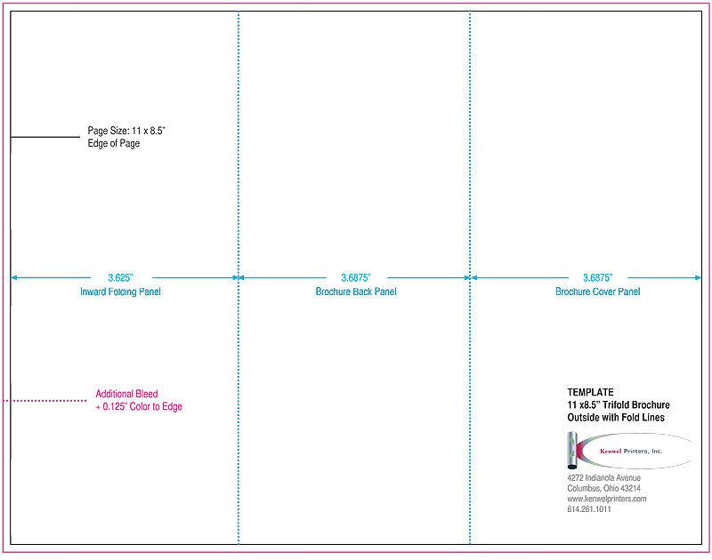 Trifold Brochures Kenwel Printers Inc