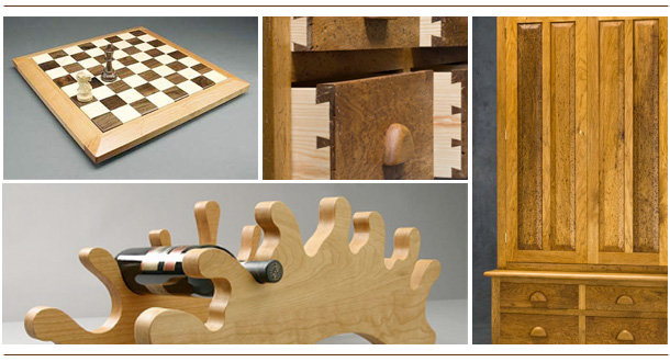 Handcrafted Furniture | Handmade wood crafts from Woodstock, Vermont