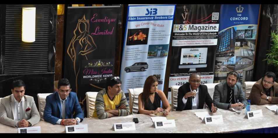 Miss india Worldwide kenya 2018 Press Conference