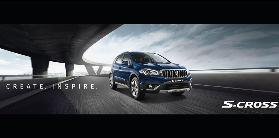 THE SUZUKI S-CROSS – CREATED TO INSPIRE ADVENTURE