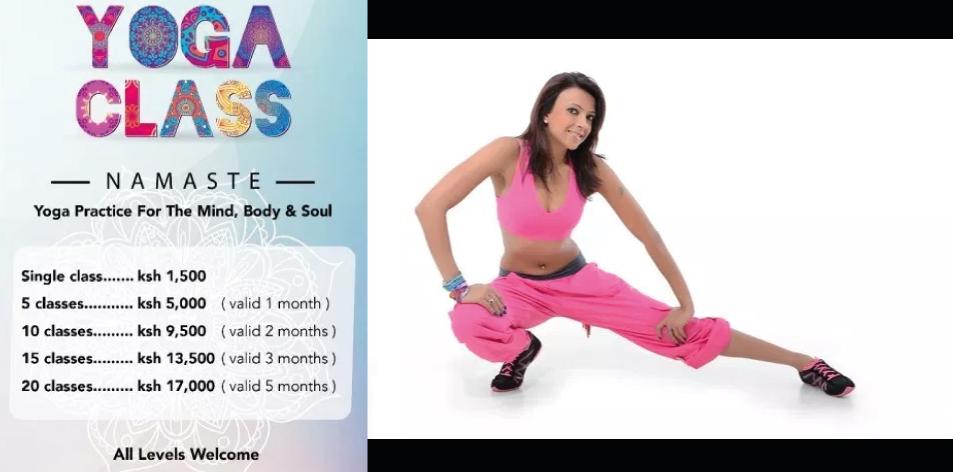 Yoga Classes With Pooja Doshi!