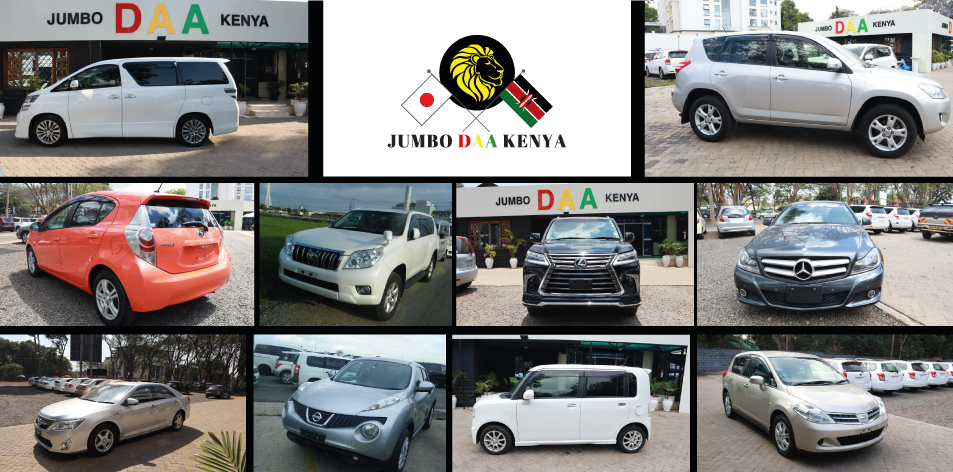 JUMBO DAA KENYA LTD- Top 10 Cars Of The Month