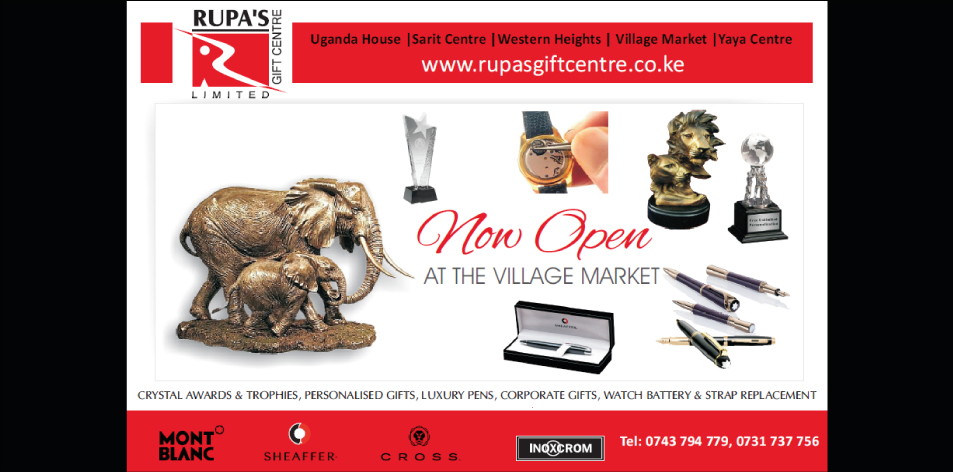 Rupa's Gift Centre- Now Open At The Village Market